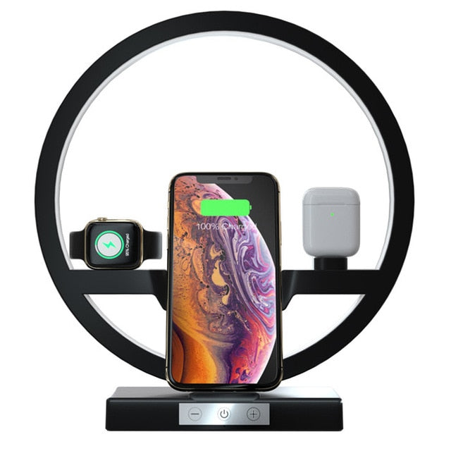 Auris Wireless Charger Lamp