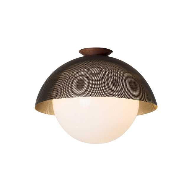 Felton Globe Flush Mount