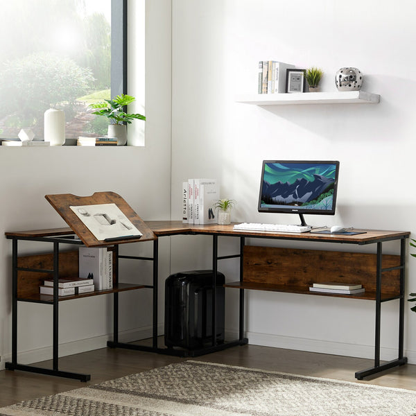 Pearson L-Shaped Office Desk