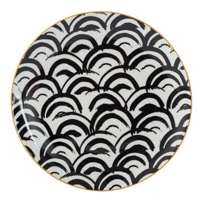 Illusion Ceramic Plate