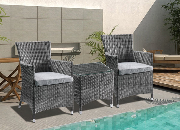White Beach Bistro Set