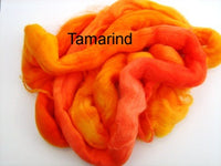 Tussah Silk - Spaced Dyed - Tamarind