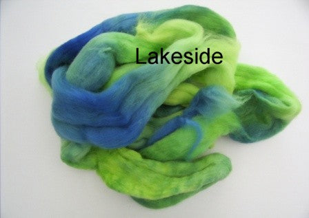 Tussah Silk - Spaced Dyed - Lakeside