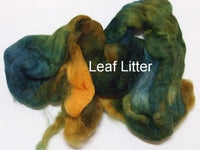 Tussah Silk - Spaced Dyed - Leaf Litter