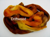 Tussah Silk - Spaced Dyed - Driftwood