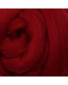 Corriedale 100g Pack - Cherry Red