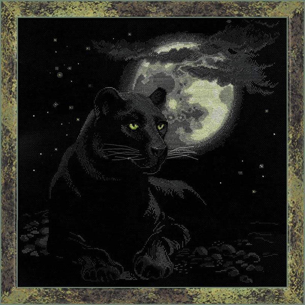 Premium Riolis Cross Stitch - Full Moon