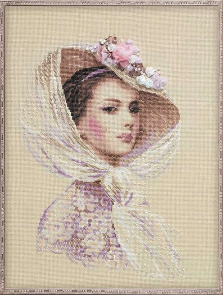 Premium Riolis Cross Stitch - Lilac Evening