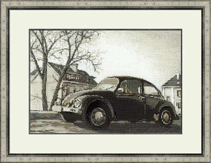 Riolis Cross Stitch - The Beetle