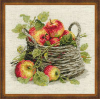 Riolis Cross Stitch - Ripe Apples