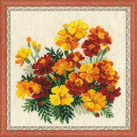 Riolos Cross Stitch - Marigolds