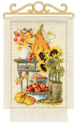 Riolos Cross Stitch - Cottage Garden Autumn