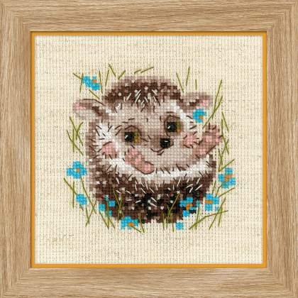 Riolos Cross Stitch - Little Hedgehog