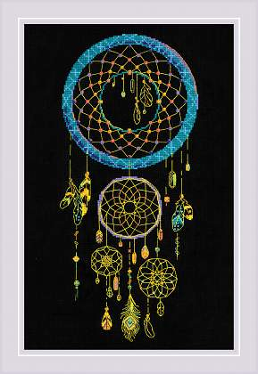 Riolis Cross Stitch - Dream Catcher