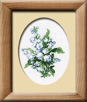 Riolis Cross Stitch - Lily of the Valley