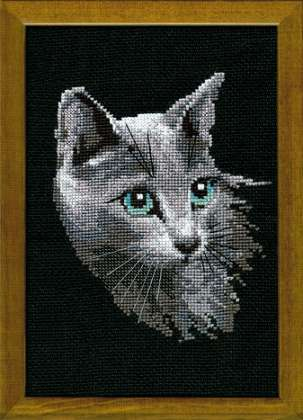 Riolis Cross Stitch - Russian Blue