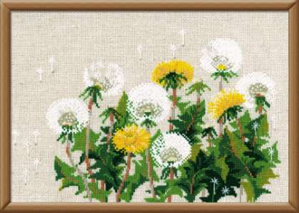 Riolis Cross Stitch - Dandelions