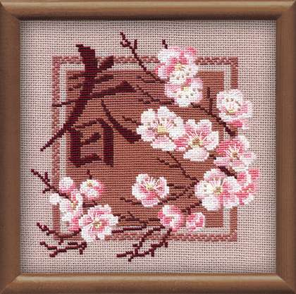 Riolis Cross Stitch - Spring