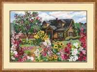 Riolis Cross Stitch - Flowering Garden