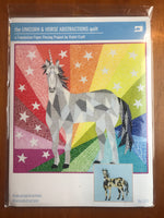 Unicorn or Horse Abstractions Quilt Pattern by Violet Craft