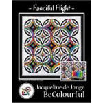 Fanciful Flight Quilt Pattern by BeColourful Quilts
