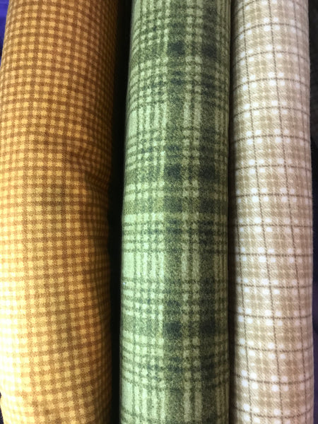 Wooly Flannel by Bonnie Sullivan - 3mtr bundles
