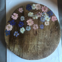 Pastel Flower Cheese Board
