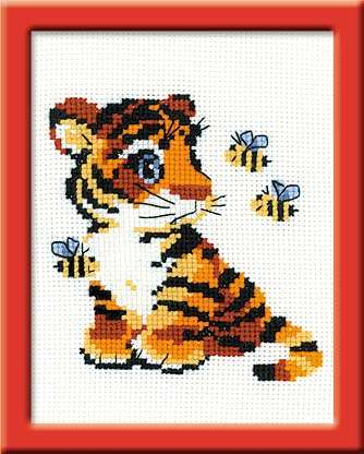Riolis Cross Stitch - Stripies