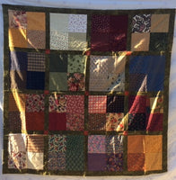 Flannel Four Patch Footy Quilt