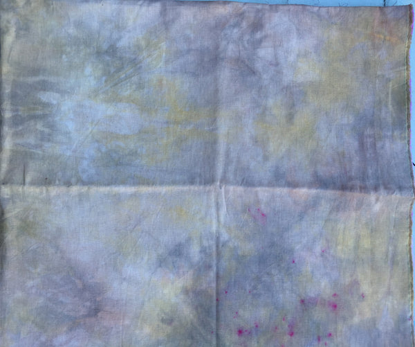 Hand dyed Linen 027