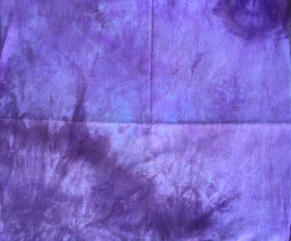 Hand dyed Linen 029