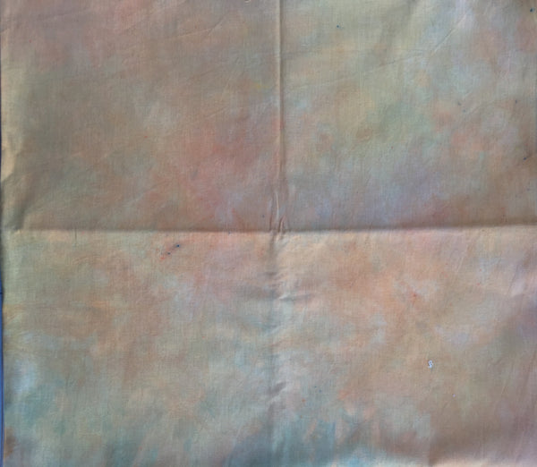 Hand dyed Linen 030