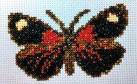 Uniquely Yours October Butterfly Cross Stitch Chart