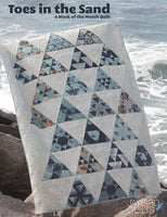 Toes in the Sand by Jaybird Quilts Pattern Book