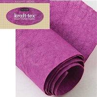 kraft-tex® Designer Colors Hand-Dyed & Prewashed Rolls - Orchid