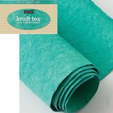 kraft-tex® Designer Colors Hand-Dyed & Prewashed Rolls - Turquoise