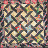 Oriental Friends Quilt Pattern by Cecile Whatman