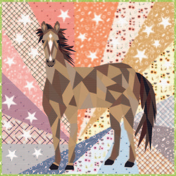 Horse Abstractions - Quilt Kit