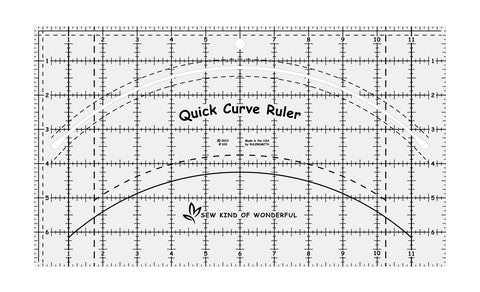 Quick Cut Ruler by Sew Kind of Wonderful