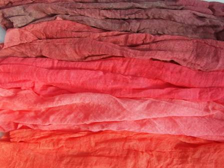 Scrim Bundles Cotton Reds