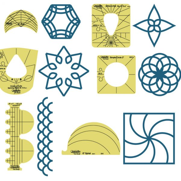 Westalee Design Sampler Template Set 1