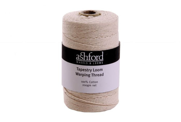 Tapestry Loom Warping Thread 100% cotton - 200gm cones