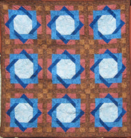 Diamond Windows Quilt Pattern by Cecile Whatman