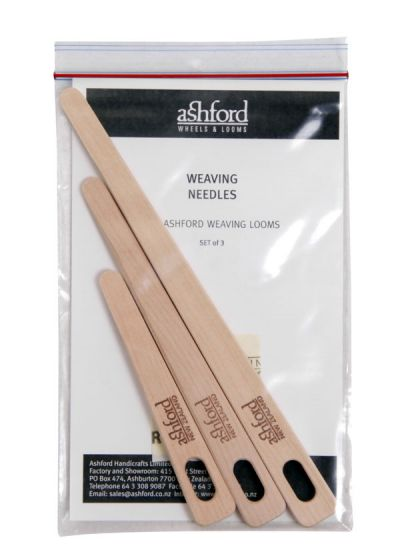 Weaving Needles - Packaged 3pc