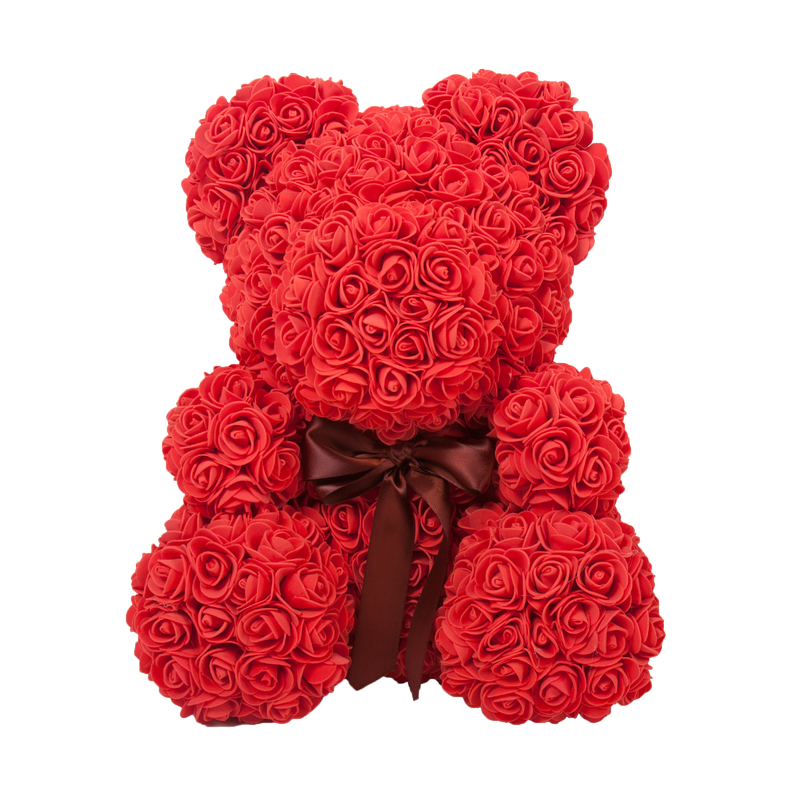 Rose Teddy Bear - Regal Collective