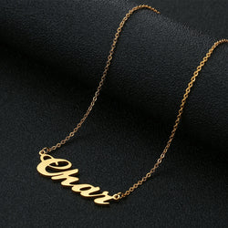 Personalized Name Necklace - Regal Collective