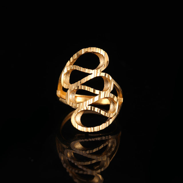 24K Yellow Gold Filled Charm Ring - Regal Collective