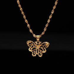 24K Yellow Gold Filled Butterfly - Regal Collective