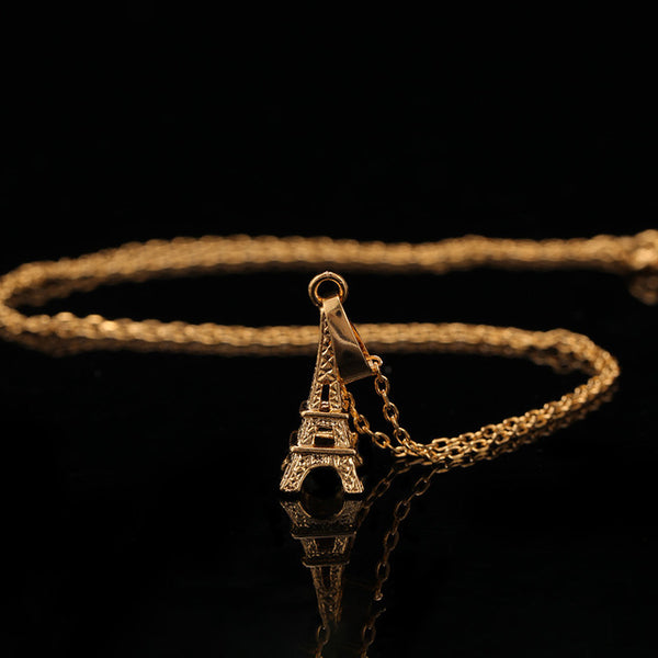 24K Yellow Gold Filled Eiffel Tower - Regal Collective