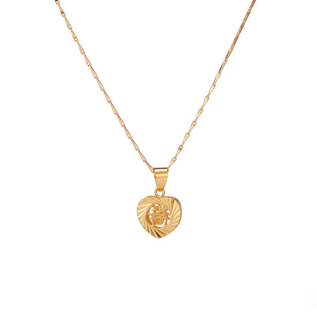 24K Yellow Gold Filled Heart Blessing - Regal Collective